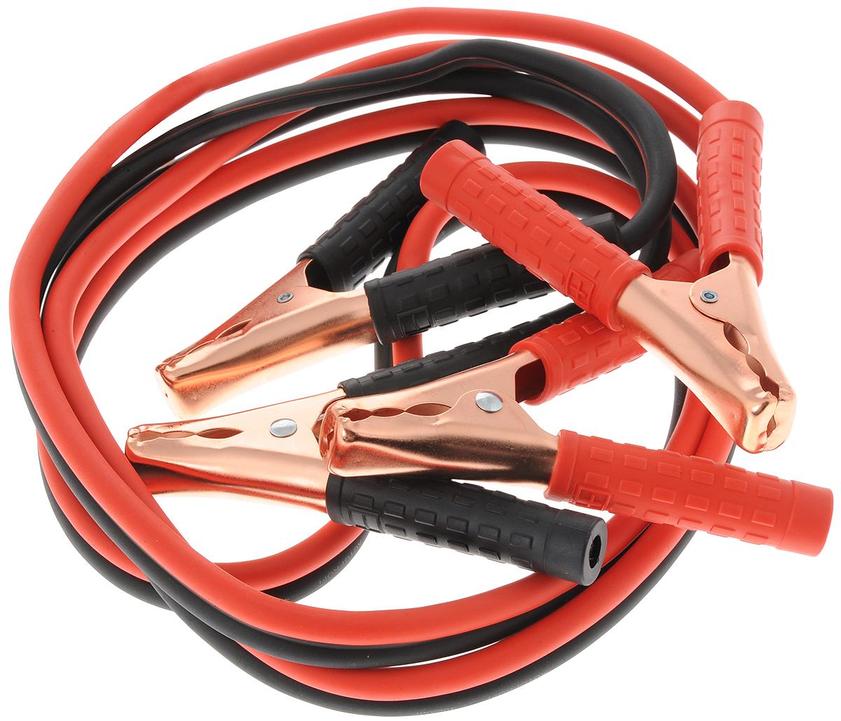 Провода прикуривания Autoprofi Аллигатор, алюминиевые, морозостойкие, 400 А, 2,5 м autoprofi провода пусковые autoprofi сверхвысокие нагрузки 100