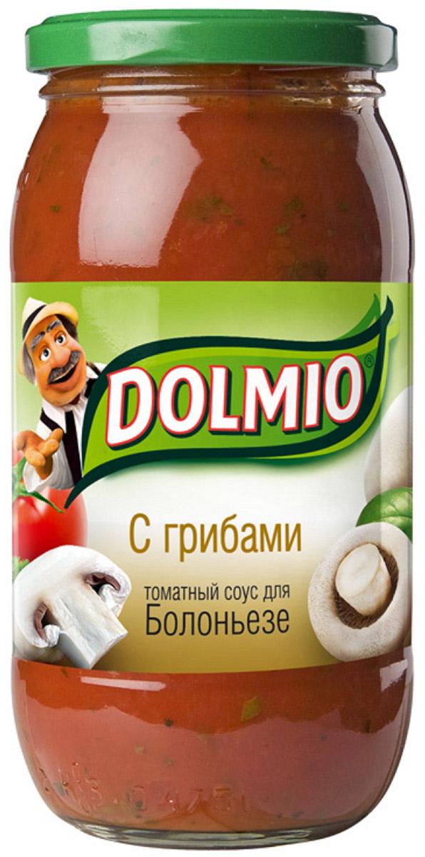 Dolmio с грибами, томатный соус для Болоньезе, 500 г XV801/3255м/3184м