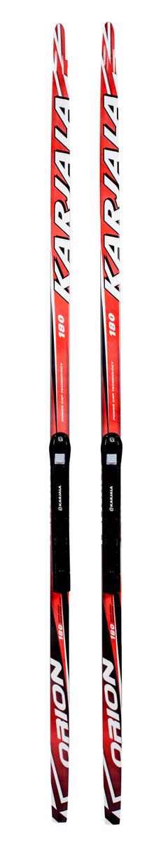 Беговые лыжи Karjala Orion Wax, с креплением NNN, цвет: красный, рост 185 смKarjala Comfort NNNЛыжный комплект: беговые лыжи Karjala Orion wax + крепления Karjala NNN. Беговые лыжи Karjala Orion wax предназначены для активного катания и прогулок по лыжне классическим стилем.Лыжи Karjala Orion wax:- Технология CAP, позволяет увеличить прочность лыжи их долговечность и надёжность. Обеспечивает большую жёсткость на скручивание и облегчённый вес.- Сердечник изготовлен из дерева- Скользящая поверхность - экструдированый полиэтилен низкого давления ПЭНД, обладающий высокой степенью защиты от царапин и вмятин.Крепления Karjala NNN:- Крепления изготовлены из морозоустойчивого пластика и стали - Автоматическое пристегивание- Заменяемый флексор жесткости- Две направляющиеKarjala (Карелия) – самая известная российская марка беговых лыж и аксессуаров, которая уже более полувека производит спортивный инвентарь. Характеристики: Рост: 185 смГеометрия: 46-46-46Материал: пластик, деревоЦвет: красныйКрепления: Karjala NNN