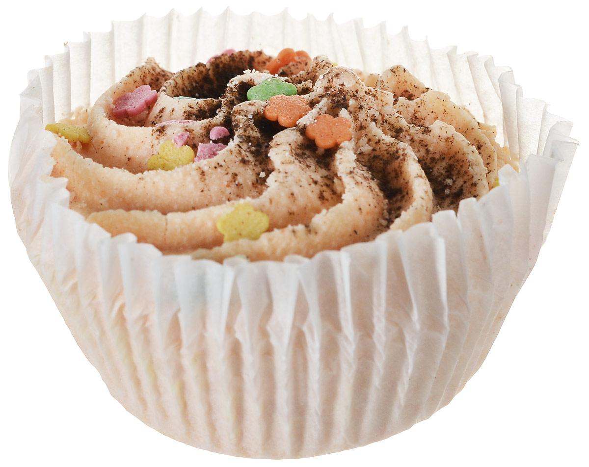 Мыловаров Десерт для ванны Апельсин с корицей, 50 грБ63003 мятаТонизирующий десерт для ванны с бодрящим ароматом сочного апельсина и свежей корицы превращает купание в настоящую спа-процедуру. Масла ши и какао, постепенно растворяясь, окутывают тело нежнейшими флюидами, питая и увлажняя кожу. Используйте десерт для ванны хотя бы раз в неделю, и ваша кожа будет гладкой и упругой, как драгоценный шелк.