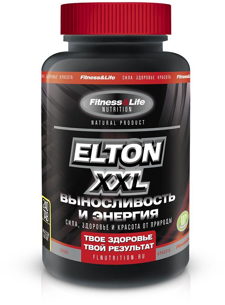 """Пищевая добавка Fitness&Life """"Elton XXL"""", 240 таблеток, 240 таблеток 4605920001241"""