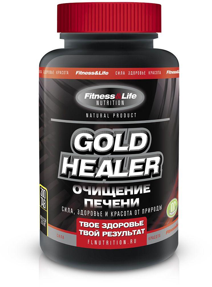 """Пищевая добавка Fitness&Life """"Goldhealer"""", 300 таблеток, 300 таблеток 4605920001258"""