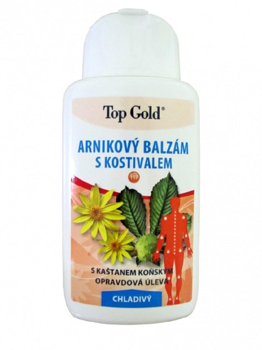 Арниковый бальзам - гель с окопником и каштаном охлаждающий, Chemek, 200 млБ33041_шампунь-барбарис и липа, скраб -черная смородинаТравяные экстракты корня окопника, цветков арники, плодов конского каштана, шалфея и хвои, содержащиеся в бальзаме, являются одной из наиболее эффективных комбинаций трав для устранения расстройств опорно-двигательного аппарата. Такими являются боли в суставах, вывихи лодыжки, растяжения, растяжения сухожилий и мышечных связок. Эффект в результате действия всех этих элементов является основой уникальности этого продукта. В состав входит ментол и камфoра, дающие в своем применении противоревматическое действие. Бальзам имеет охлаждающий эффект и предназначен для восстановления опорно-двигательного аппарата при помощью массажа мышц, суставов и позвоночника.