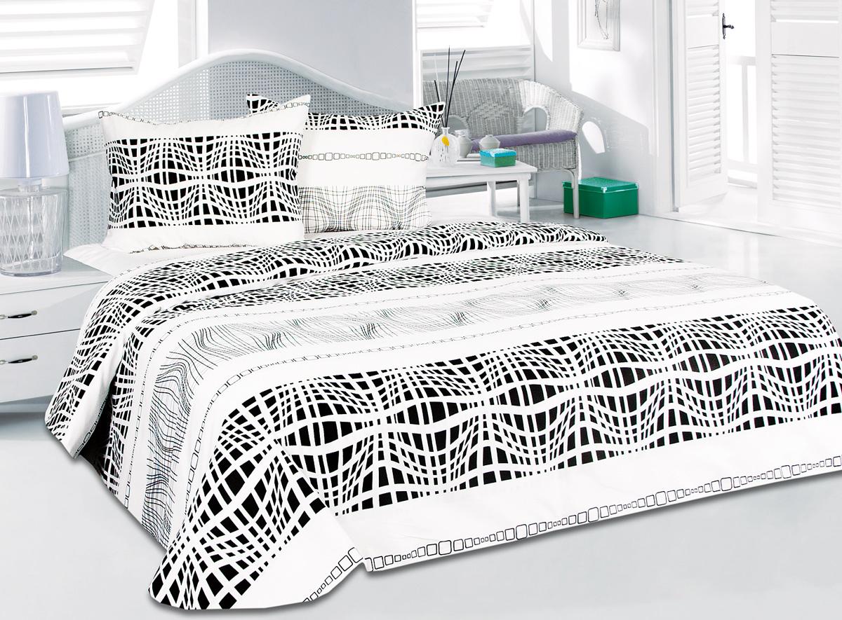 Комплект белья Tete-a-Tete Никс, 1,5-спальный, наволочки 50x70Т-2120-01Комплект белья Tete-a-Tete Никс изготовлен из сатина (100% органический хлопок) и состоит из пододеяльника, простыни и двух наволочек. Сатин - хлопчатобумажная ткань полотняного переплетения, одна из самых красивых, легких, мягких и приятных телу тканей, изготовленных из натурального волокна. Благодаря своей шелковистости и блеску сатин называют хлопковым шелком. Комплект постельного белья Tete-a-Tete Никс добавит изюминку в привычное оформление вашего интерьера и создаст уютную и теплую атмосферу или, наоборот, добавит ярких красок и расставит акценты.