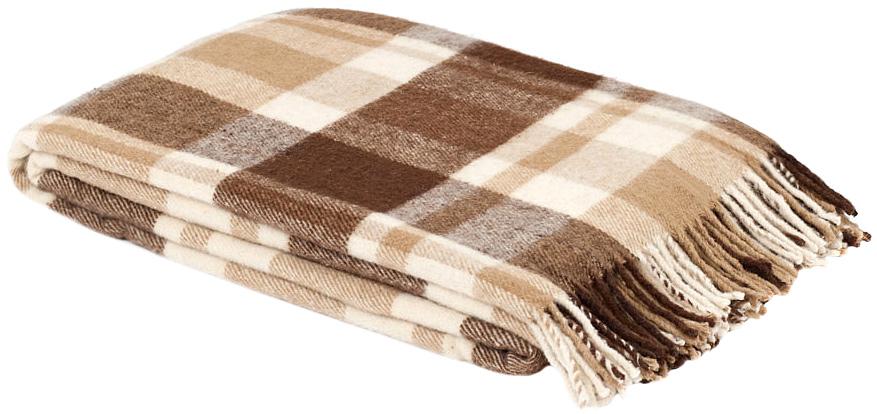 Плед Страдивари, цвет: коричневый, бежевый, 170 х 200 см 1-203-170_021-203-170_02Теплый и уютный плед с кисточками Страдивари, оформленный рисунком в бежевую клетку, выполнен из натуральной шерсти особой породы тонкорунных овец - мериноса. Изделия из такой шерсти отличаются безупречным качеством и мягкой текстурой. Плед изготовлен с молезащитной обработкой. Под шерстяным пледом вам никогда не станет жарко или холодно, он помогает поддерживать постоянную температуру тела. Шерсть обладает прекрасной воздухопроницаемостью, она поглощает и нейтрализует вредные вещества и славится своими целебными свойствами. Плед из шерсти станет лучшим лекарством для людей, страдающих ревматизмом, радикулитом, головными и мышечными болями, сердечно-сосудистыми заболеваниями и нарушениями кровообращения. Шерсть не электризуется. Она прочна, износостойка, долговечна. Наконец, шерсть просто приятна на ощупь, ее мягкость и фактура вызывают потрясающие тактильные ощущения! Пушистый и мягкий, такой плед идеально подойдет для дачного отдыха: он очень пригодится, как только...