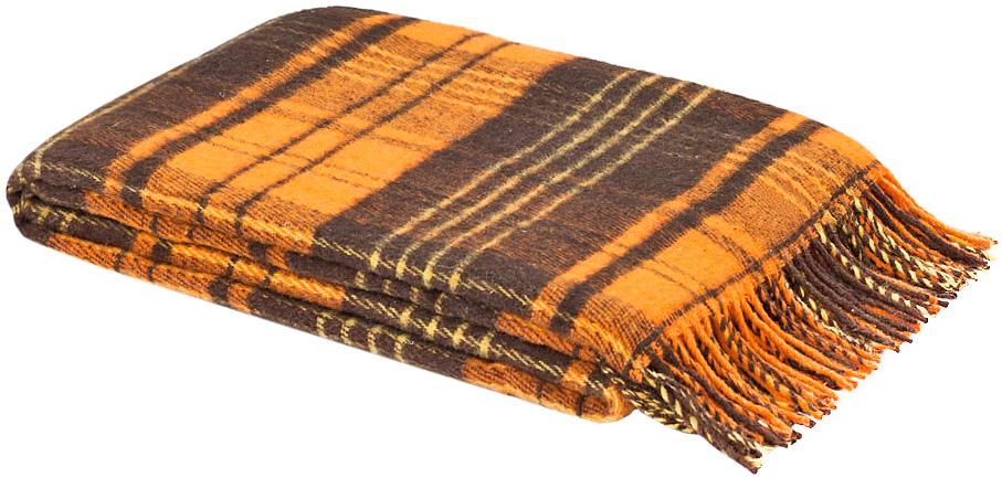 Плед Андо, 140 см х 200 см. 1-223-140_081-223-140_08Мягкий и гладкий плед Андо, выполненный из натуральной новозеландской овечьей шерсти, добавит комнате уюта и согреет в прохладные дни. Удобный размер этого качественного пледа позволит использовать его и как одеяло, и как покрывало для кресла или софы. Плед с кистями. Плед упакован в пластиковую сумку-чехол на застежке-молнии, а прочные текстильные ручки делают чехол удобным для переноски. Такое теплое украшение может стать отличным подарком друзьям и близким! Под шерстяным пледом вам никогда не станет жарко или холодно, он помогает поддерживать постоянную температуру тела. Шерсть обладает прекрасной воздухопроницаемостью, она поглощает и нейтрализует вредные вещества и славится своими целебными свойствами. Плед из шерсти станет лучшим лекарством для людей, страдающих ревматизмом, радикулитом, головными и мышечными болями, сердечно-сосудистыми заболеваниями и нарушениями кровообращения. Шерсть не электризуется. Она прочна, износостойка, долговечна. Наконец,...