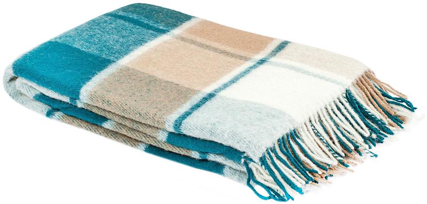 Плед Пиросмани, цвет: белый, бежевый, темно-зеленый, 140 х 200 см. 1-206-140_13531-401Мягкий и приятный плед Пиросмани изготовлен из 100% новозеландской овечьей шерсти. Плед добавит комнате уюта и согреет в прохладные дни. Такое теплое украшение может стать отличным подарком друзьям и близким! Под шерстяным пледом вам никогда не станет жарко или холодно, он помогает поддерживать постоянную температуру тела. Шерсть обладает прекрасной воздухопроницаемостью, она поглощает и нейтрализует вредные вещества и славится своими целебными свойствами. Плед из шерсти станет лучшим лекарством для людей, страдающих ревматизмом, радикулитом, головными и мышечными болями, сердечно-сосудистыми заболеваниями и нарушениями кровообращения. Шерсть не электризуется. Она прочна, износостойка, долговечна. Наконец, шерсть просто приятна на ощупь, ее мягкость и фактура вызывают потрясающие тактильные ощущения!Пиросмани - коллекция пледов с кистями, уменьшенной плотности из 100% натуральной новозеландской овечьей шерсти. Характеристики:Материал: 100% новозеландская овечья шерсть. Цвет: белый, бежевый, темно-зеленый. Размер пледа: 140 см х 200 см. Размер упаковки: 48 см х 10 см х 37 см. Артикул: 1-206-140_13.