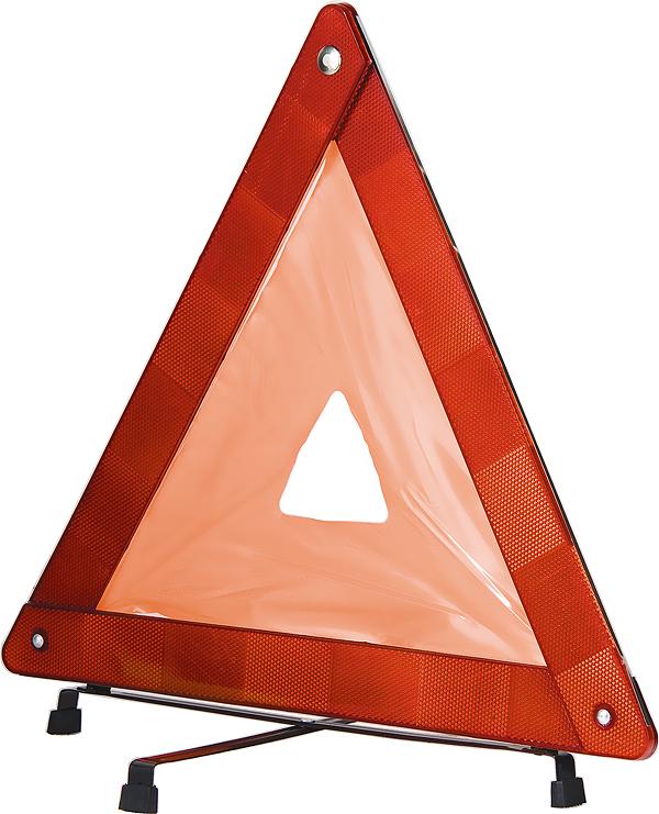 Знак аварийной остановки Stels54913Предназначен для оповещения места ДТП. Оснащен светоотражающими элементами. Поставляется в комплекте с пластиковым чехлом.