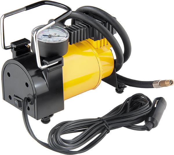 """Автомобильный компрессор """"Denzel"""" DС-20, 12 В, 7 атм, 35 л/мин 58054"""