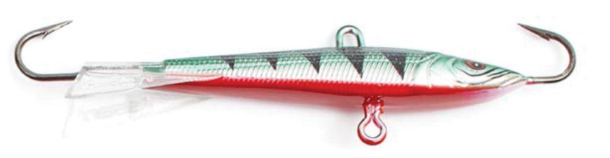 Балансир Asseri, цвет: зеленый, белый, красный, длина 6,5 см, вес 7 г. 513-06009513-06009Балансир Asseri - это приманка, предназначенная для ловли в отвес. Основным и самым важным отличием балансиров от зимних блесен является способность играть в горизонтальной плоскости. Такая игра имитирует естественные движения мелкой рыбы, которые меньше настораживают хищника. С каждым годом приманки заслуженно занимают место в арсенале любителей зимней ловли хищника. Качественный и стильный балансир Asseri изготовлен по последним новейшим технологиям.