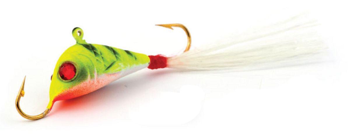 Балансир Finnex, длина 4,2 см, вес 7 г. BLR2-EPTBLR2-EPTБалансир Finnex имеет светящийся хвостик, который поможет приманить рыбу на глубине в несколько метров. Форма этого балансира напоминает мелкую рыбку. Балансир оснащен блестящим глазком, что делает его более заметным и позволяет привлечь рыбу с более дальнего расстояния. Изделие изготовлено из прочного свинцового сплава с элементами пластика.