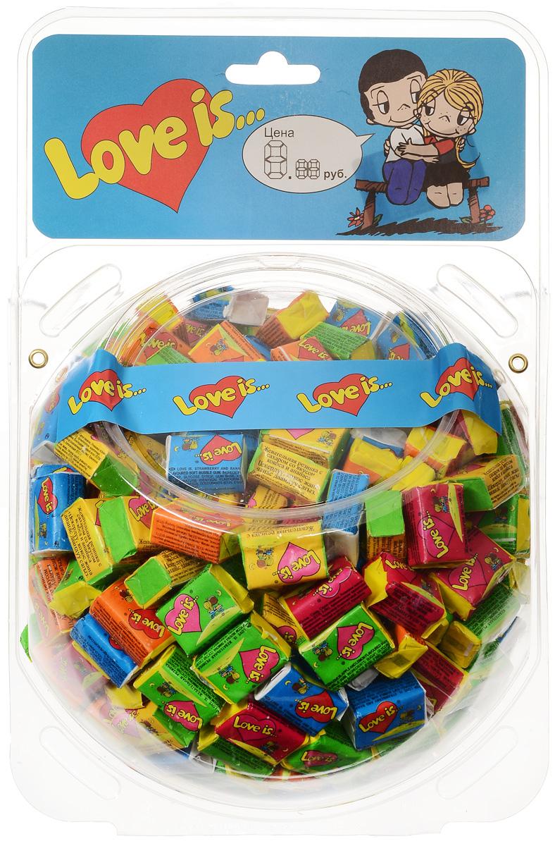 Love is жевательная резинка Микс вкусов, 400 шт (сфера)