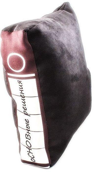 Подушка Эврика Офисная папка. оСНОВные решенияUP210DFОригинальная подушка Эврика Офисная папка. оСНОВные решения поможет вам проспать суровые офисные будни. Верх изделия выполнен из замши sensitive touch (100% полиэстер), наполнитель - холлофайбер (100% полиэфир). Скрытая среди офисных файлов, подушка манит прикоснуться к ее нежной замшевой бархатистой глади, почувствовать упругую мягкость и задремать... с комфортом... Сладкий, бодрящий сон и вы готовы к великим свершениям, а подушку подложите под спину или под бочок.Такая подушка станет отличным подарком коллегам и вызовет улыбку у каждого, кто ее увидит.