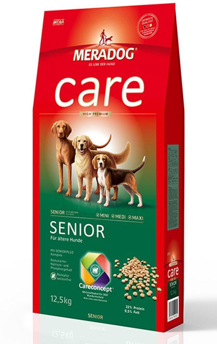 Корм сухой Meradog Senior, для стареющих собак, 300 г0120710Концепция защиты от MERADOG:антиоксиданты (витамин C, Е, бета-каротин и селен) для оптимальной защиты клеток. Натуральные жирные кислоты Омега-3 и Омега-6 (масло лосося, подсолнечное масло и масло льняных семян), а также хелат цинка для кожи и шерсти. Пребиотический инулин для стабильной кишечной флоры и надежного пищеварения. Формула «Запах, стоп!» - комплекс биологически активных веществ для уменьшения неприятного запаха от собаки. L-карнитин способствует жировому и энергетическому обмену. Источники высококачественного белка (птица, яйца, рыба) для поддержания оптимального телосложения и жизнеспособности.