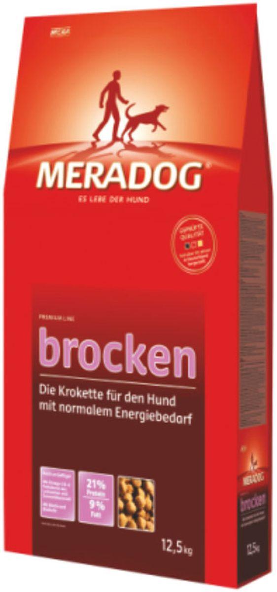 Корм сухой Meradog Brocken, крокеты для взрослых собак с нормальной активностью, 12,5 кг52750Крокеты в качестве полнорационного корма для собак с нормальной активностью