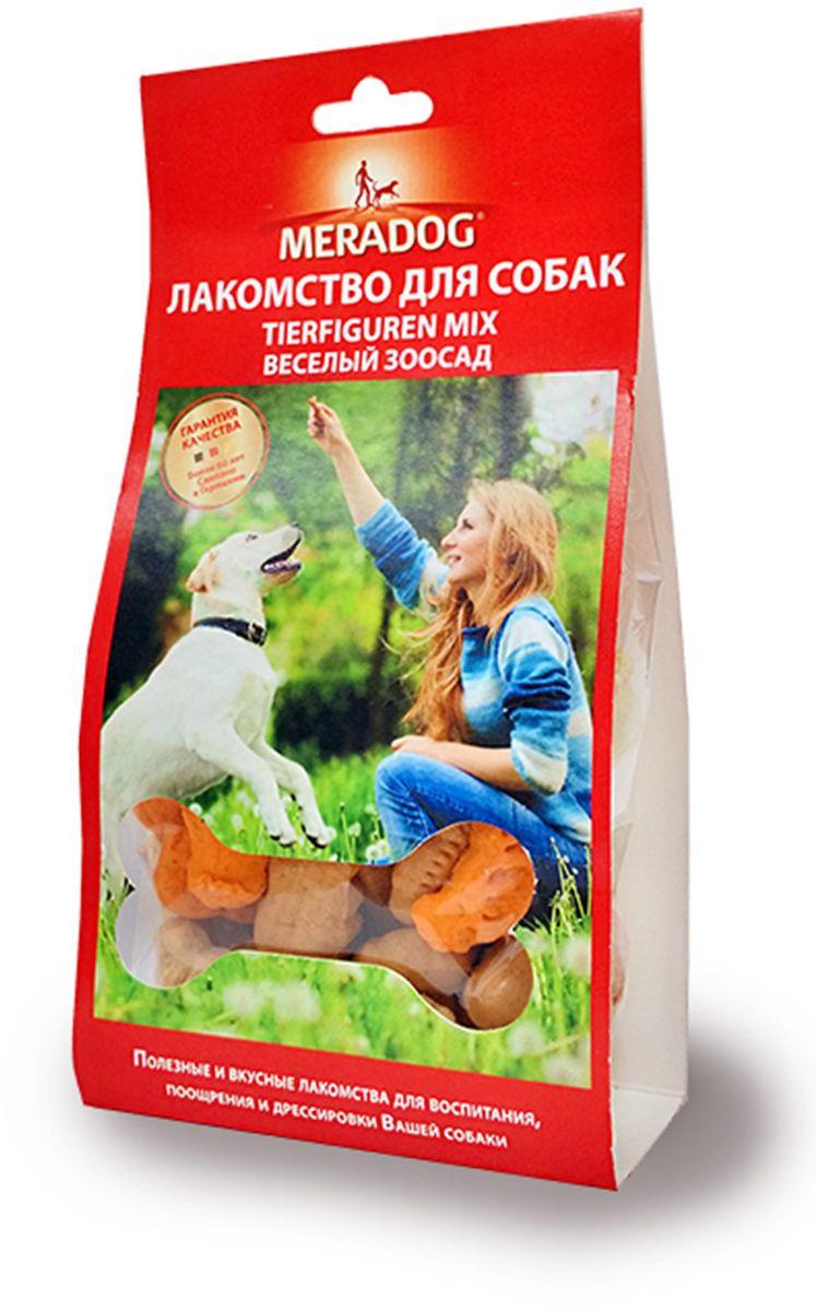 Лакомство для собак Meradog Tierfiguren, веселый зоосад, 150 г942810Печенье (лакомства) для собак. Как вознаграждение, а также дополнение к основному рациону собак