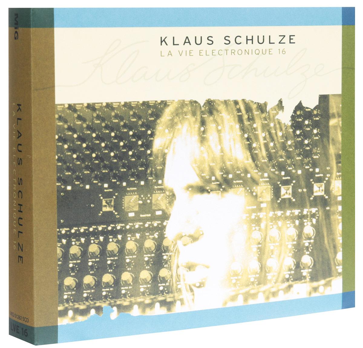 Klaus Schulze. La Vie Electronique 16 (5 CD) 2015 5 Audio CD