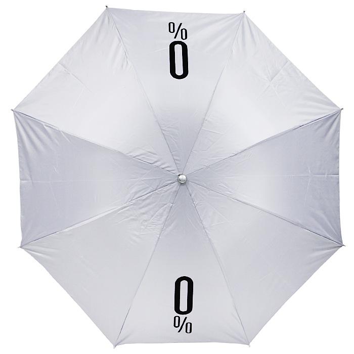 Зонт механический 0% Alcoholicity, цвет: белый89981Оригинальный складной механический зонт даже в ненастную погоду позволит вам оставаться стильной и элегантной. Каркас зонта выполнен из восьми металлических спиц, удобная рукоятка - из пластика. На рукоятке для удобства есть небольшой шнурок, позволяющий надеть зонт на руку тогда, когда это будет вам необходимо. Зонт хранится в чехле, который выполнен в виде пластиковой бутылки с надписью 0% Alcoholicity . Компактные размеры зонта в сложенном виде позволят ему без труда поместиться в сумочке. Характеристики: Материал: металл, пластик, полиэстер. Высота бутылки: 30,5 см. Диаметр зонта: 102 см. Производитель: Китай. Артикул: 89981.