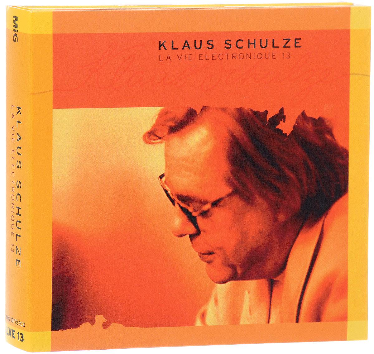 Klaus Schulze. La Vie Electronique 13 (3 CD) 2016 3 Audio CD