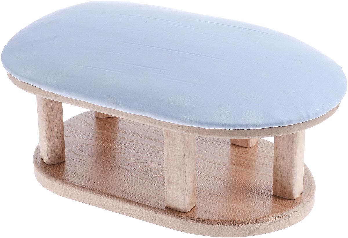 Колодка портновская Кабанчик стандартныйKA11511Колодка портновская Кабанчик стандартный подходит для утюжки и отпаривания больших участков ткани. Изделие выполнено из древесины разных пород (бук, дуб, тик) и оформлено накладкой из мягкого ватина с декором в виде перышек. Влажно-тепловая обработка имеет большое значение в улучшении качества швейных изделий и их внешнего вида. Даже кривую строчку в некоторых случаях можно исправить утюгом. Колодка облегчит утюжку в труднодоступных для утюга местах. Кроме того, твердое холодное дерево быстро впитывает пар и охлаждает ткань, способствуя закреплению формы.