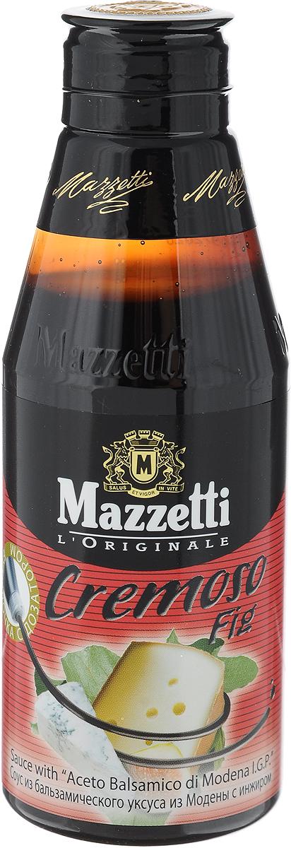 Mazzetti соус Cremoso Fig из бальзамического уксуса с инжиром, 215 мл 65203