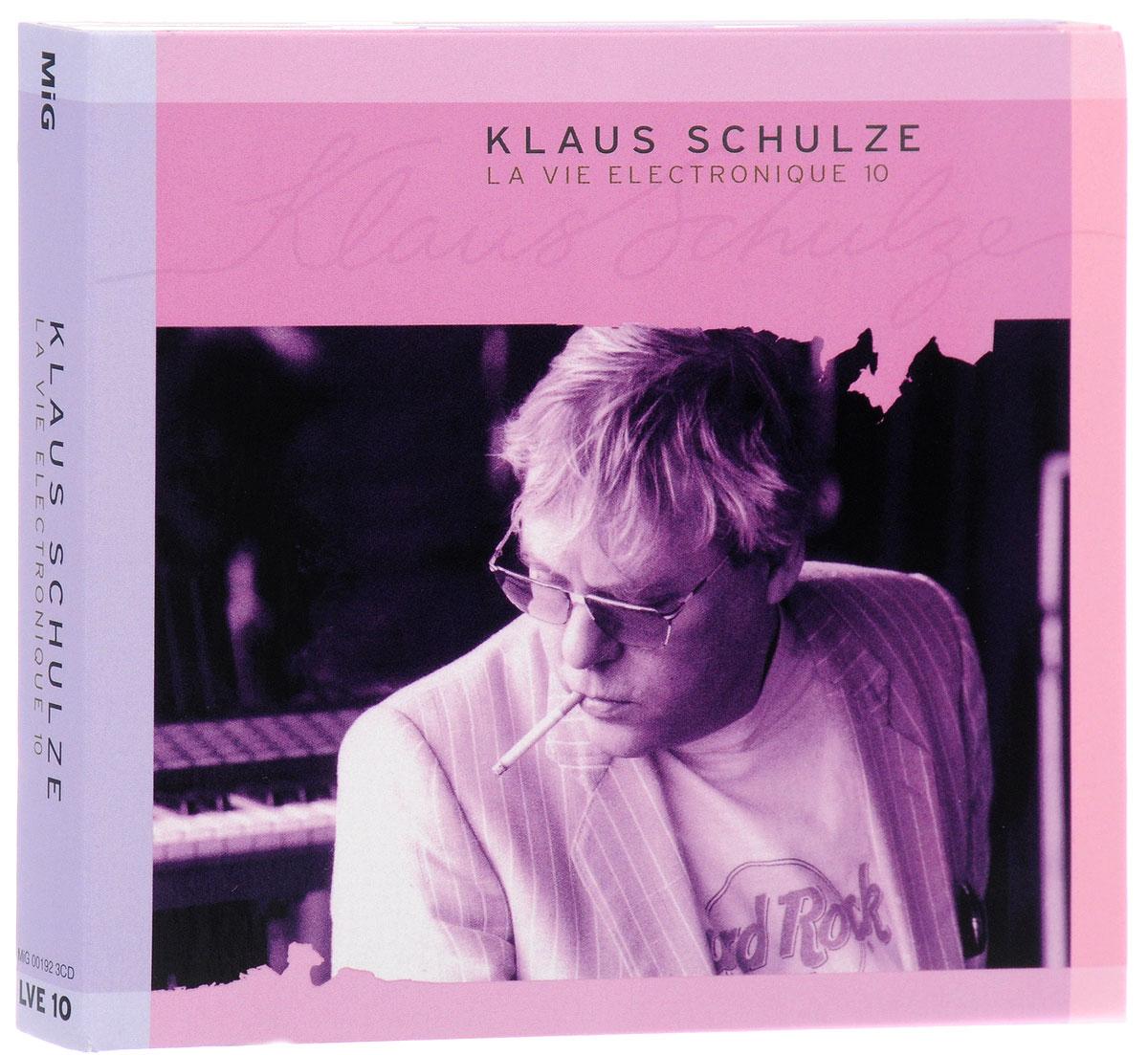 Klaus Schulze. La Vie Electronique 10 (3 CD) 2016 3 Audio CD
