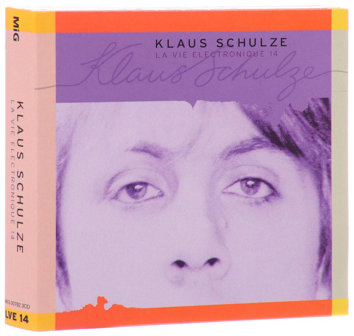 Klaus Schulze. La Vie Electronique 14 (3 CD) 2016 3 Audio CD