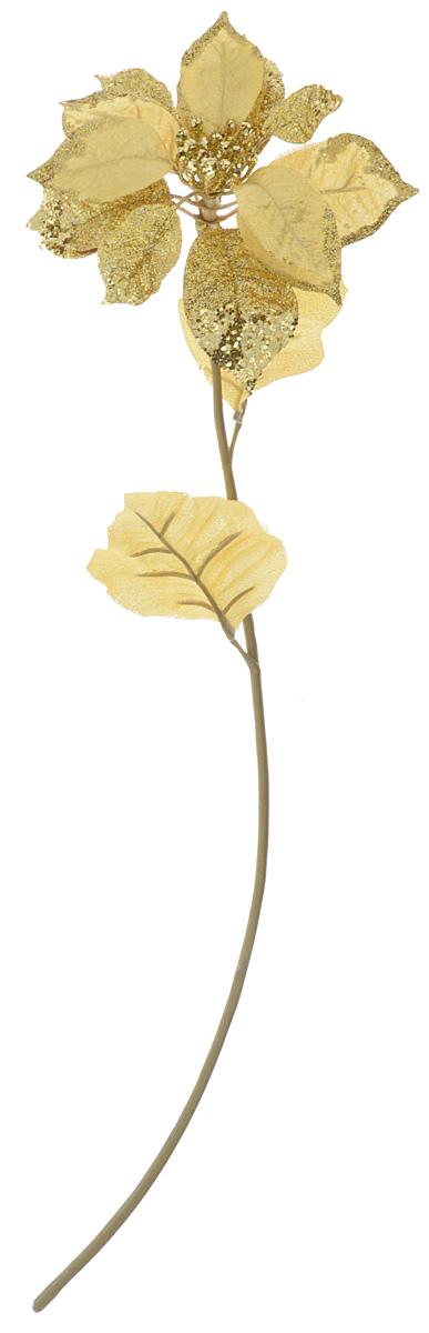 Декоративное украшение Lovemark Пуансеттия, высота 69 смNLED-444-7W-BKДекоративное украшение Lovemark Пуансеттия - великолепный подарок себе и вашим близким, идеально подойдет для декорации интерьера. Изделие выполнено из пластика, полиэстера и металла в виде цветка и декорировано блестками. Такое украшение будет приковывать взгляды ваших гостей.Длина украшения: 69 см.