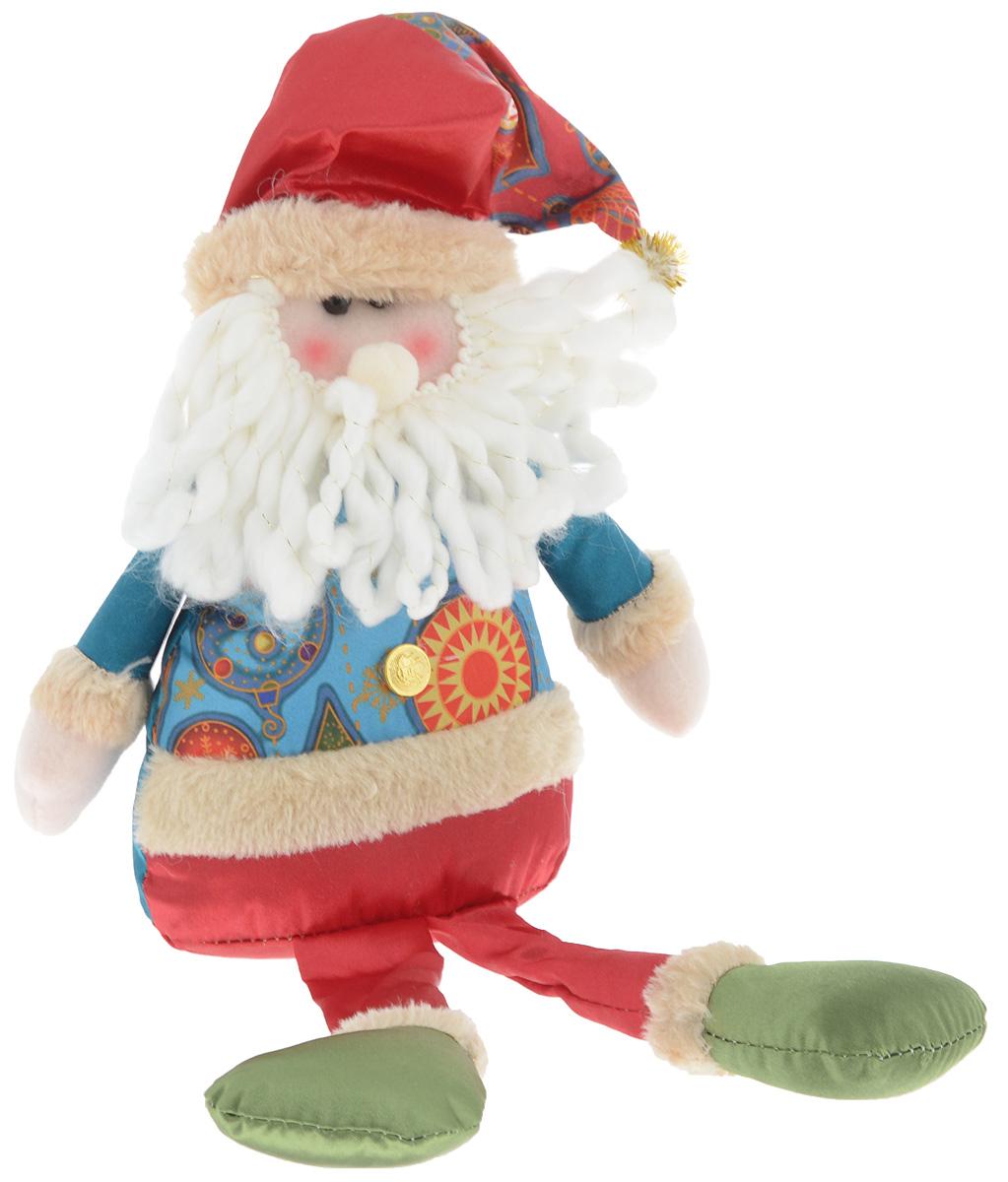 Украшение новогоднее декоративное Win Max Дед Мороз, 17,5 х 7 х 36 см175831_АУкрашение новогоднее декоративное Win Max Дед Мороз прекрасно подойдет для праздничного декора вашего дома. Изделие выполнено из текстиля с наполнителем из синтепона в виде забавного Деда Мороза. Для утяжеления и повышения устойчивости игрушки служит гранулят из полимера. Новогодние украшения несут в себе волшебство и красоту праздника. Они помогут вам украсить дом к предстоящим праздникам и оживить интерьер. Создайте в доме атмосферу тепла, веселья и радости, украшая его всей семьей. Кроме того, такая игрушка станет приятным подарком, который надолго сохранит память этого волшебного времени года.