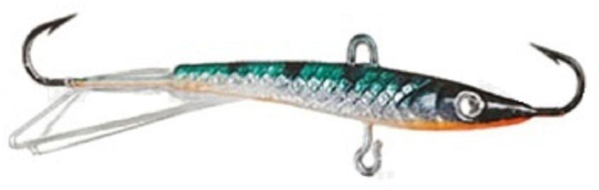 Балансир Finnex. Swarovski, длина 10 см, вес 21 г. BLS-10-MSTBLS-10-MSTБалансир Finnex. Swarovski удлиненной формы с игрой широкого радиуса и наклонами на поворотах, предназначен для ловли на мелководье и в стоячей воде, в основном для ловли окуня. Форма этого балансира напоминает мелкую рыбку. Балансир оснащен глазком из кристалла Swarovski, что делает его более заметным, что позволяет привлечь рыбу с более дальнего расстояния.
