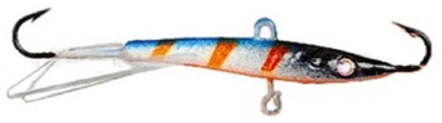 Балансир Finnex. Swarovski, длина 10 см, вес 21 г. BLS-10-NLO03/1/12Балансир Finnex. Swarovski удлиненной формы с игрой широкого радиуса и наклонами на поворотах, предназначен для ловли на мелководье и в стоячей воде, в основном для ловли окуня. Форма этого балансира напоминает мелкую рыбку. Балансир оснащен глазком из кристалла Swarovski, что делает его более заметным, что позволяет привлечь рыбу с более дальнего расстояния.