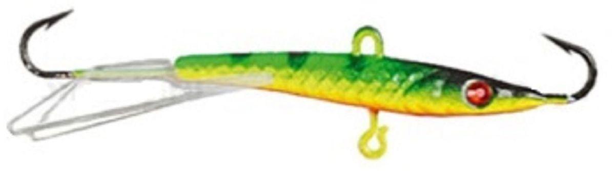 Балансир Finnex. Swarovski, длина 10 см, вес 21 г. BLS-10-ZETBLS-10-ZETБалансир Finnex. Swarovski удлиненной формы с игрой широкого радиуса и наклонами на поворотах, предназначен для ловли на мелководье и в стоячей воде, в основном для ловли окуня. Форма этого балансира напоминает мелкую рыбку. Балансир оснащен глазком из кристалла Swarovski, что делает его более заметным, что позволяет привлечь рыбу с более дальнего расстояния.