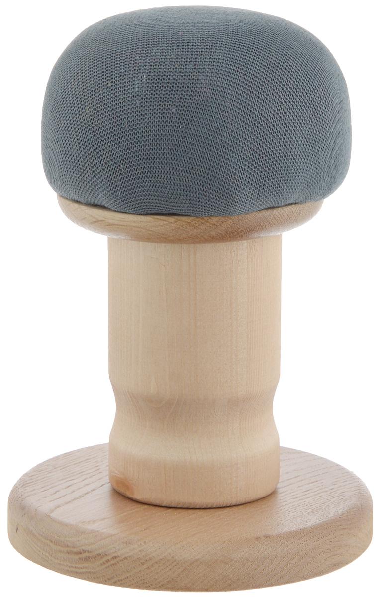 Колодка портновская Грибок с подставкой. GR12532GR12532Портновская колодка Грибок с подставкой подходит для утюжки и отпаривания плеч, придания нужной формы воротников, манжет и других деталей одежды. Изделие выполнено из древесины разных пород (хвоя, дуб) и обтянуто трикотажной тканью с накладкой из мягкого ватина. Влажно-тепловая обработка имеет большое значение в улучшении качества швейных изделий и их внешнего вида. Даже кривую строчку в некоторых случаях можно исправить утюгом. Колодка облегчит утюжку в труднодоступных для утюга местах. Кроме того, твердое холодное дерево быстро впитывает пар и охлаждает ткань, способствуя закреплению формы.