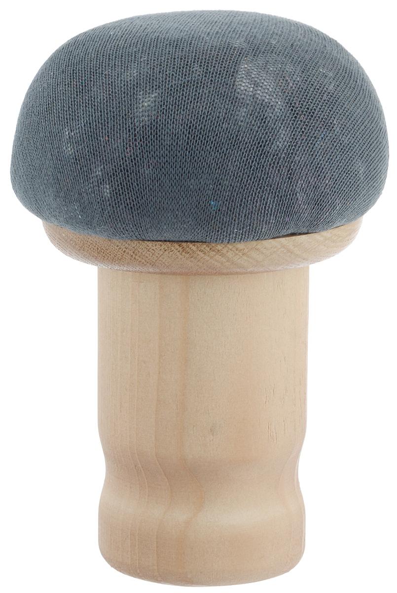 Колодка портновская Грибок стандартный. GR11532IR-F1-WПортновская колодка Грибок стандартный подходит для утюжки и отпаривания плеч, придания нужной формы воротников, манжет и других деталей одежды. Изделие выполнено из древесины разных пород (хвоя, дуб) и обтянуто трикотажной тканью с накладкой из мягкого ватина.Влажно-тепловая обработка имеет большое значение в улучшении качества швейных изделий и их внешнего вида. Даже кривую строчку в некоторых случаях можно исправить утюгом. Колодка облегчит утюжку в труднодоступных для утюга местах. Кроме того, твердое холодное дерево быстро впитывает пар и охлаждает ткань, способствуя закреплению формы.
