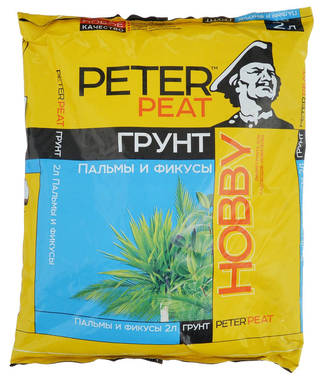 Грунт для растений Peter Peat Пальмы и фикусы, 2 л09840-20.000.00Peter Peat Пальмы и фикусы - это готовый к применению питательный торфяной грунт. Грунт предназначен для выращивания пальм, фикусов, монстеры, юкки и других крупномерных растений. Способствует приживаемости растений и улучшает их декоративные качества.