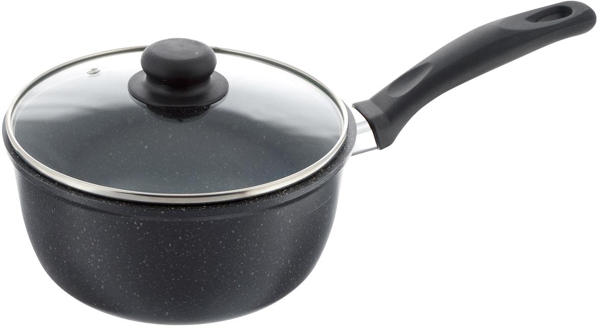 Ковш Casta Megapolis с крышкой, с антипригарным покрытием, 2 л. МР2К/КРМР2К/КРКовш Casta Megapolis изготовлен из алюминия с высококачественным антипригарным покрытием, предотвращающим пригорание пищи. Ковш быстро нагревается и дольше сохраняет продукты горячими. Термостойкая бакелитовая ручка обеспечивает комфортное использование. Крышка, выполненная из термостойкого стекла, позволит вам следить за процессом приготовления пищи. Крышка оснащена металлическим ободом и отверстием для выпуска пара. Ковш можно использовать на стеклокерамических, электрических и газовых плитах. Можно мыть в посудомоечной машине. Диаметр (по верхнему краю): 21 см. Высота стенки: 11,5 см. Длина ручки: 19 см.
