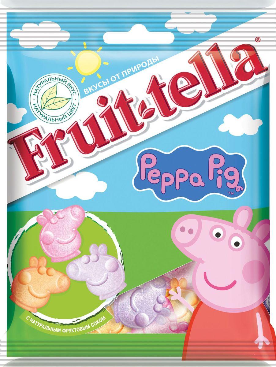 Fruittella Peppa Pig жевательный мармелад, 70 г