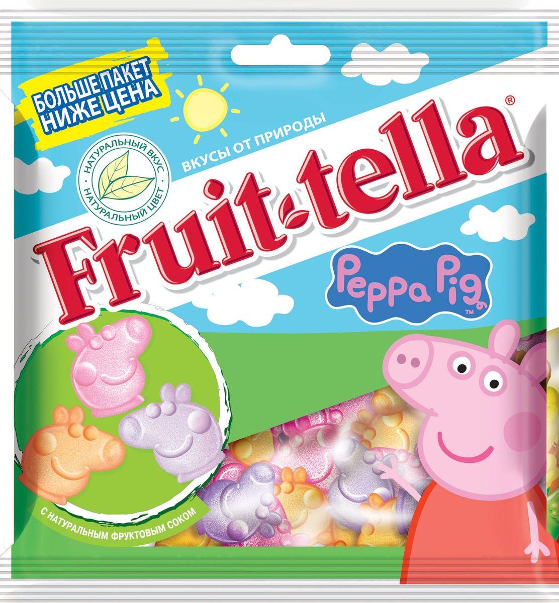 Fruittella Peppa Pig жевательный мармелад, 150 г 8253008