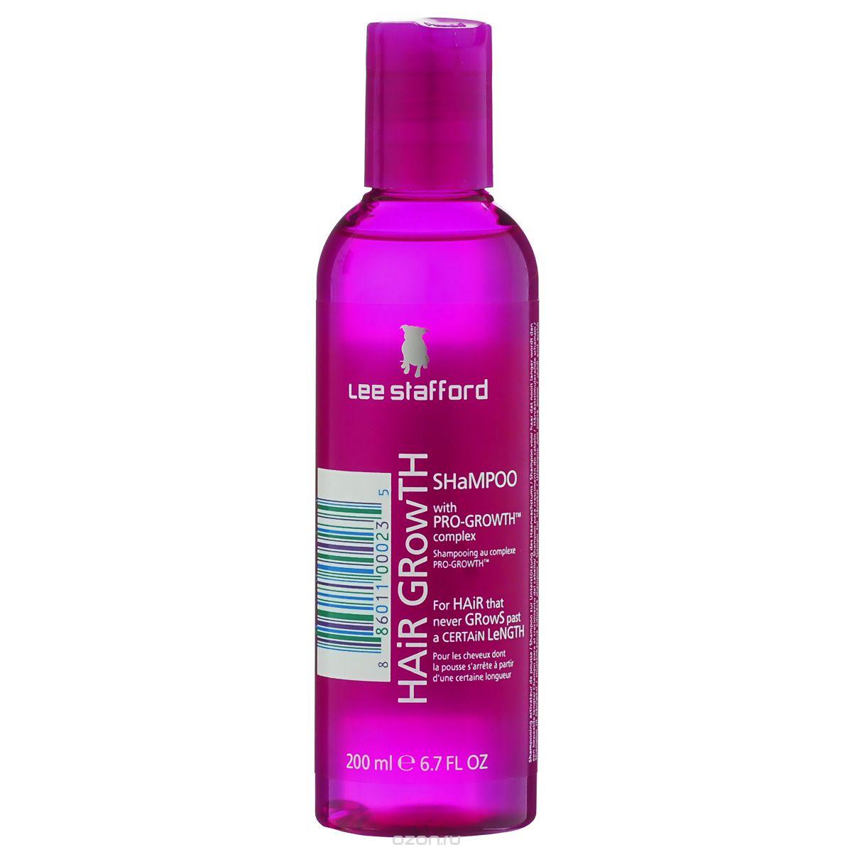 Lee Stafford Шампунь для роста волос Hair Growth, 200 мл695440200118 Lee Stafford Шампунь для роста волос Hair Growth Shampoo, 200 мл. Оказывает стимулирующее воздействие на кожу головы и корни волос, улучшает их состояние и придает объем.