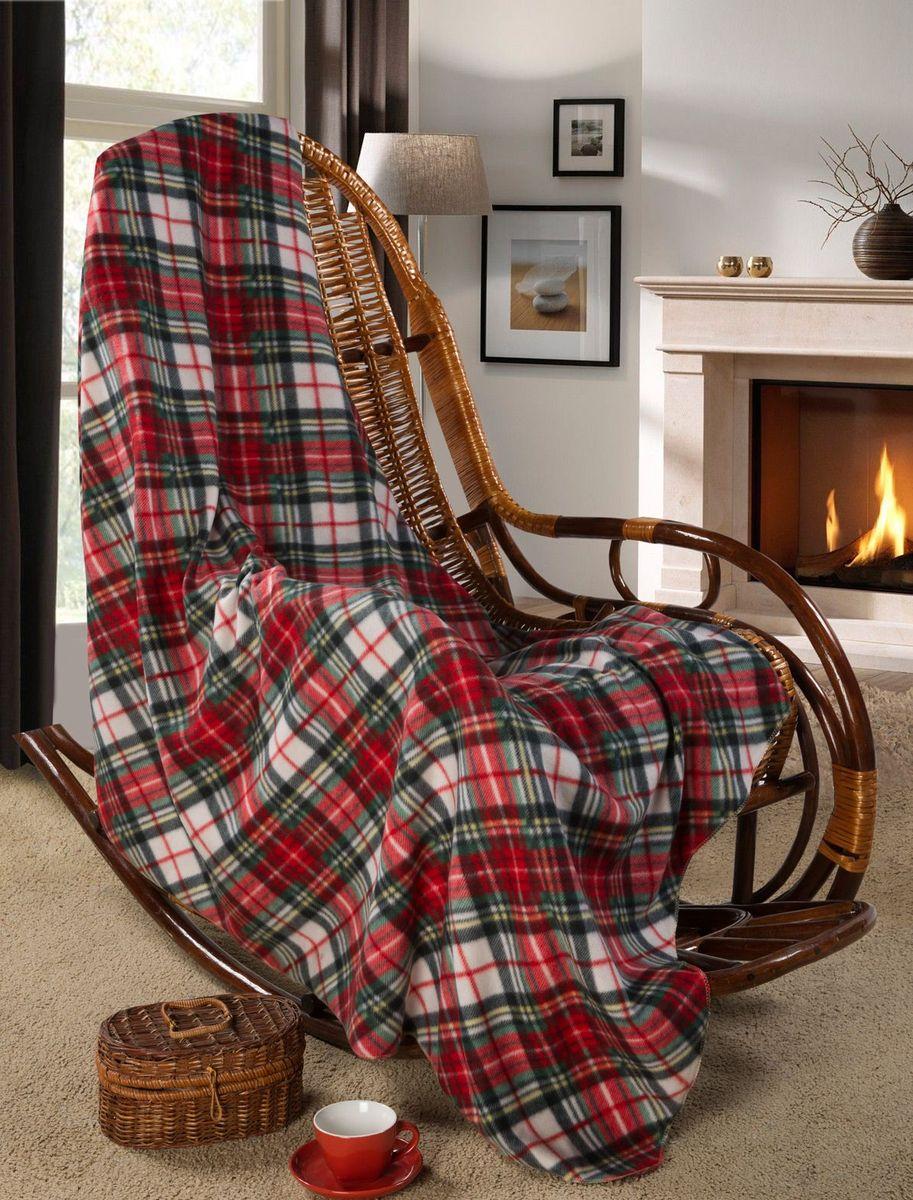 Покрывало Guten Morgen Деревенский, 150 х 200 смПФ-Д-150-200Мягкое покрывало Guten Morgen, изготовленное из флиса (100% полиэстера), может стать не только красивым и практичным аксессуаром для интерьера вашей спальни, но и олицетворением уюта и теплоты вашего дома. Как приятно завернуться в теплое покрывало с чашечкой ароматного чая и скоротать за хорошей книгой долгий зимний вечер.