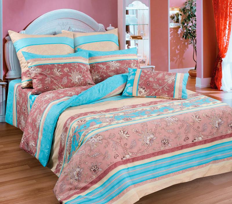 Комплект белья Guten Morgen Ажур, 2-спальный, наволочки 70х70S03301004Комплект постельного белья Guten Morgen Ажур, изготовленный из бязи (100% хлопка), являющейся экологически чистым продуктом, поможет вам расслабиться и подарит спокойный сон. Комплект состоит из пододеяльника, простыни и двух наволочек. Предметы комплекта оформлены узором. Постельное белье имеет и привлекающий внешний вид и обладает яркими, сочными цветами. Благодаря такому комплекту постельного белья вы сможете создать атмосферу уюта и комфорта в вашей спальне.