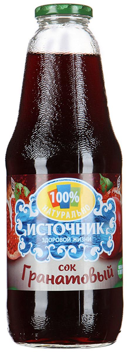 """""""Источник здоровой жизни"""" сок гранатовый, 1 л 00-00000325"""