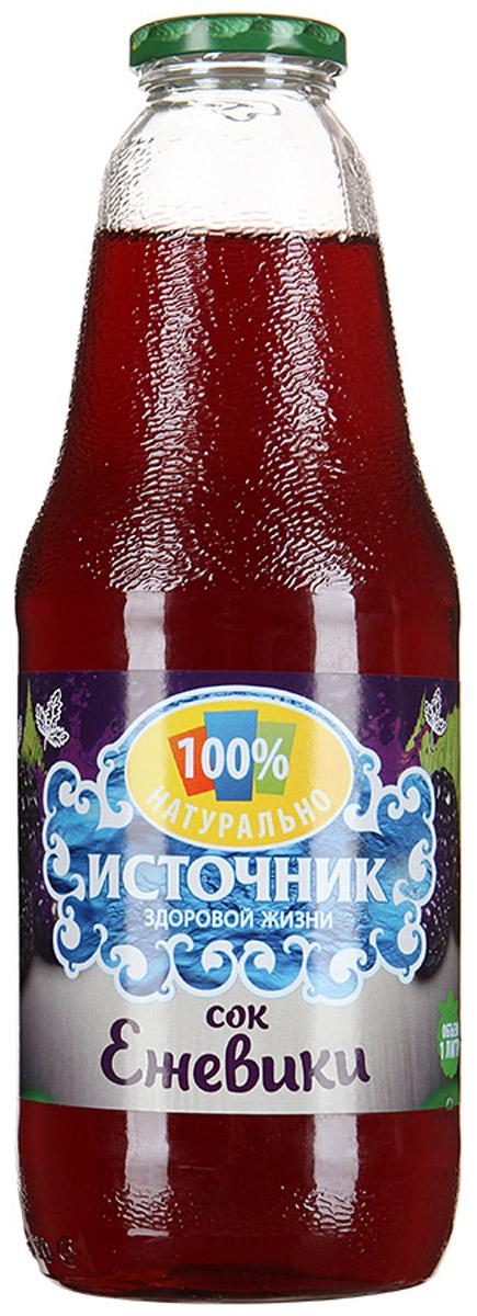 """""""Источник здоровой жизни"""" сок ежевики, 1 л 00-00000326"""
