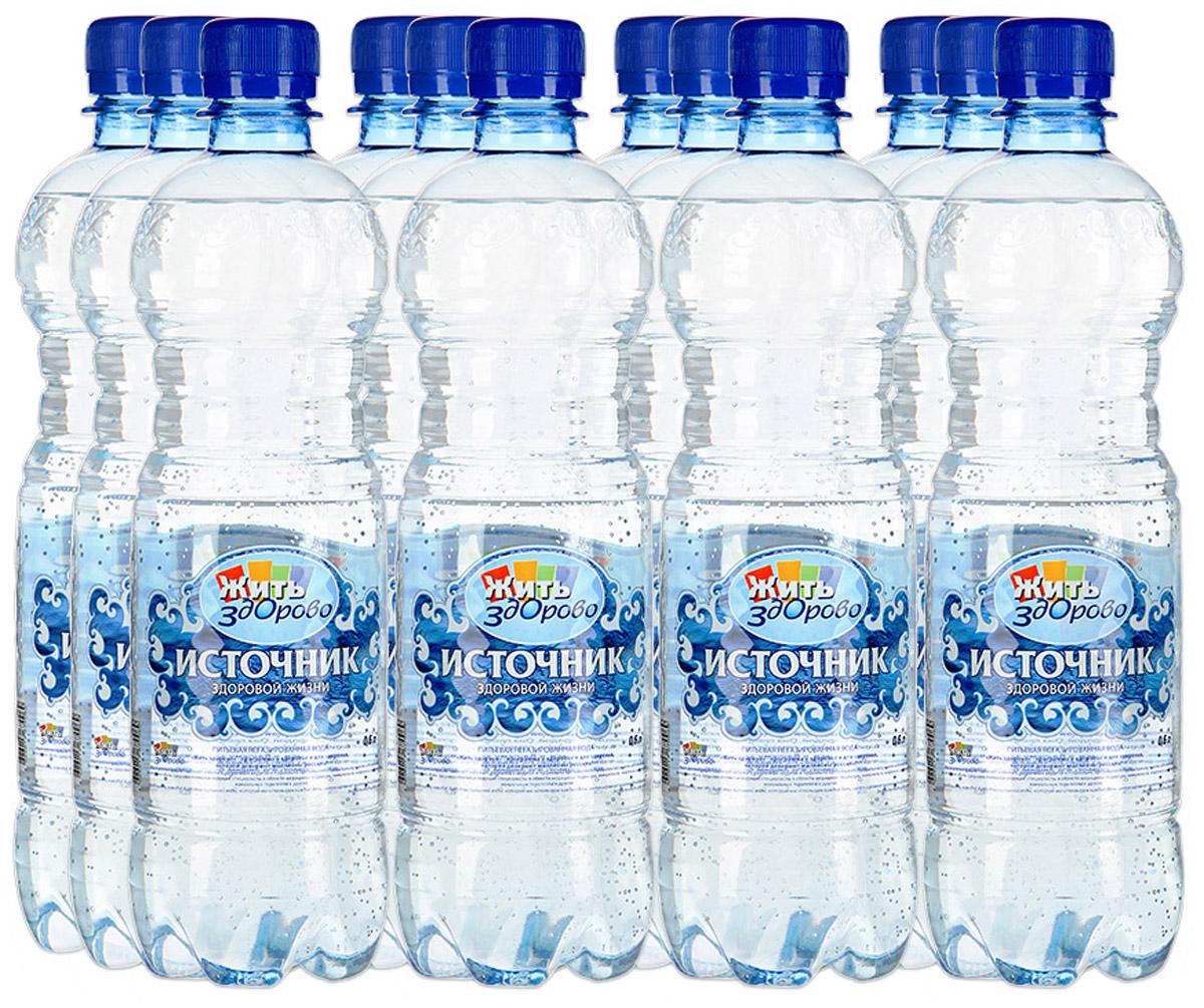 Источник здоровой жизни питьевая вода негазированная, 12 шт по 0,6 л00000000127Источник здоровой жизни - единственная питьевая вода, одобренная экспертами программы Жить здорово. Жить здорово - программа о здоровье и для здоровья, которой доверяют миллионы россиян! Полезные рекомендации помогают избежать различных недугов и правильно организовать профилактику многих заболеваний. Экспертами Жить здорово являются ведущие специалисты в области медицины: педиатры, иммунологи, неврологи, кардиологи, мануальные терапевты и другие. Вода важнее, чем еда! Качество питьевой воды, которую мы используем каждый день, имеет огромное значение для здоровья - Эксперты Жить здорово. Источник здоровой жизни - питьевая вода, которая оптимально сбалансирована самой природой. Она прекрасно утоляет жажду, освежает, очищает, наполняет энергией. Вода выводит из организма шлаки, помогает сбросить лишний вес, улучшает общее состояние. Производитель со всей ответственностью относится к вашему здоровью и заботится о здоровье...