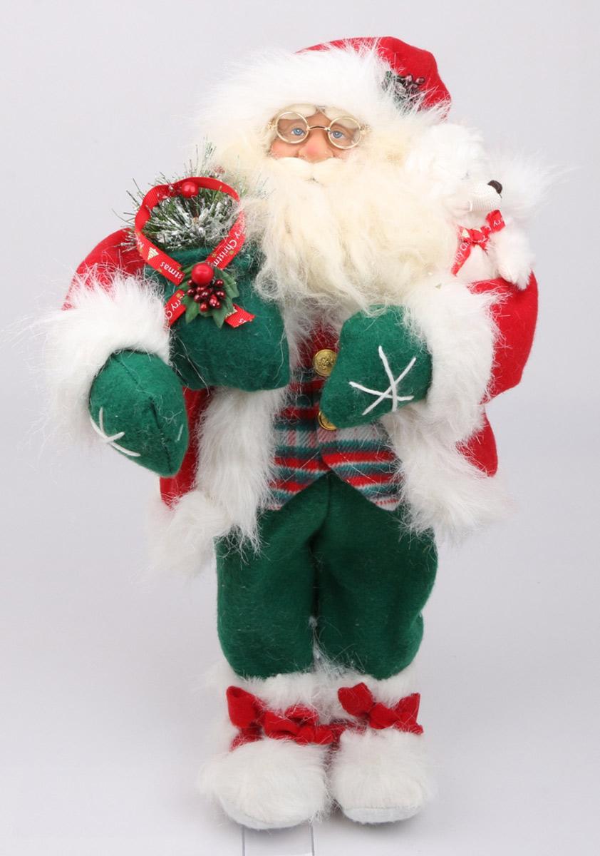 Кукла ESTRO, цвет: красный, диаметр 45 см. C21-181104C21-181104Кукла создана вручную, неповторима и оригинальна. Порадуйте своих друзей и близких этим замечательным подарком!