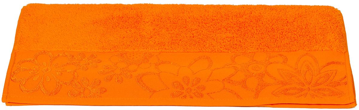 Полотенце Hobby Home Collection Dora, цвет: оранжевый, 100 х 150 см1501000429Полотенце Hobby Home Collection Dora выполнено из 100% хлопка. Изделие отлично впитывает влагу, быстро сохнет, сохраняет яркость цвета и не теряет форму даже после многократных стирок. Такое полотенце очень практично и неприхотливо в уходе. А простой, но стильный дизайн полотенца позволит ему вписаться даже в классический интерьер ванной комнаты.