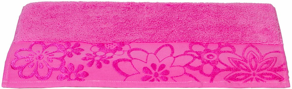 Полотенце Hobby Home Collection Dora, цвет: темно-розовый, 50 х 90 см1501000441Полотенце Hobby Home Collection Dora выполнено из 100% хлопка. Изделие отлично впитывает влагу, быстро сохнет, сохраняет яркость цвета и не теряет форму даже после многократных стирок. Такое полотенце очень практично и неприхотливо в уходе. А простой, но стильный дизайн полотенца позволит ему вписаться даже в классический интерьер ванной комнаты.