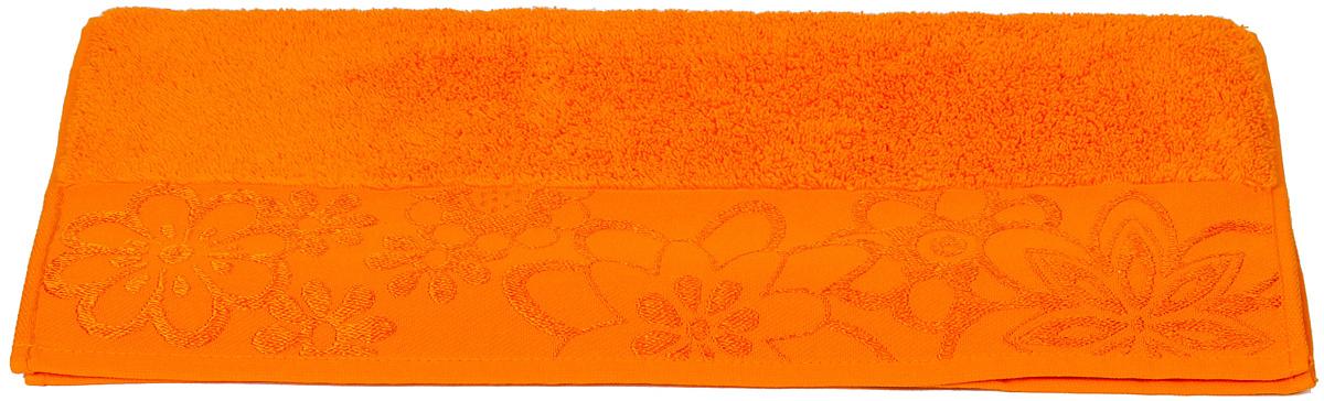 Полотенце махровое Hobby Home Collection Dora, цвет: оранжевый, 70х140 см10503Полотенца марки Хобби уникальны и разрабатываются эксклюзивно для данной марки. При создании коллекции используются самые высокотехнологичные ткацкие приемы. Дизайнеры марки украшают вещи изысканным декором. Коллекция линии соответствует актуальным тенденциям, диктуемым мировыми подиумами и модой в области домашнего текстиля.