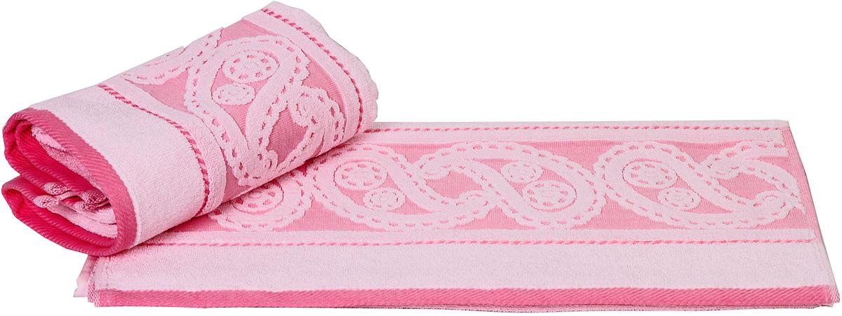 Полотенце Hobby Home Collection Hurrem, цвет: светло-розовый, 50 х 90 см1501000483Полотенце Hobby Home Collection Hurrem выполнено из 100% хлопка. Изделие отлично впитывает влагу, быстро сохнет, сохраняет яркость цвета и не теряет форму даже после многократных стирок. Такое полотенце очень практично и неприхотливо в уходе. А простой, но стильный дизайн полотенца позволит ему вписаться даже в классический интерьер ванной комнаты.