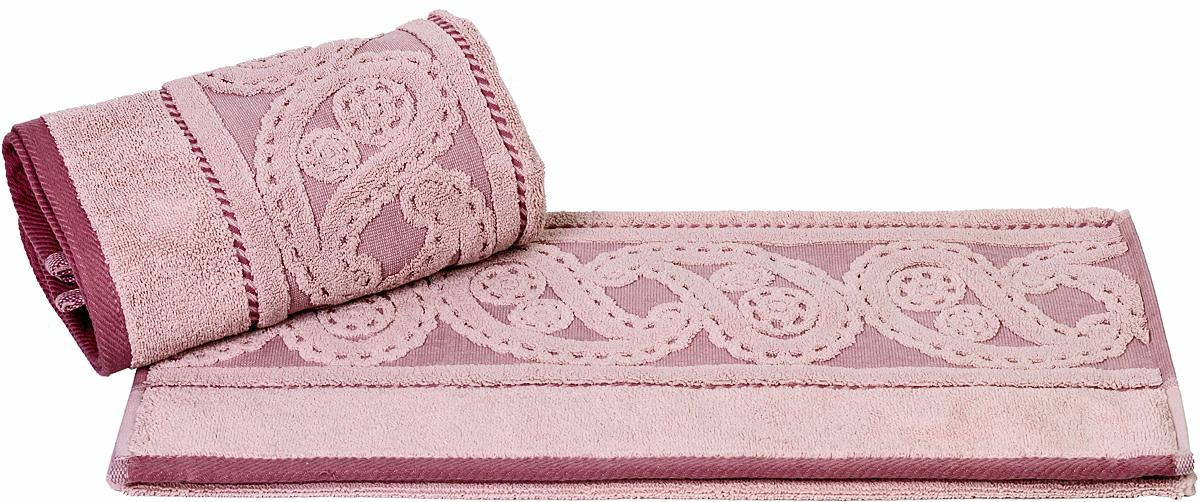 Полотенце Hobby Home Collection Hurrem, цвет: розовый, 70 х 140 см10503Полотенце Hobby Home Collection Hurrem выполнено из 100% хлопка. Изделие отлично впитывает влагу, быстро сохнет, сохраняет яркость цвета и не теряет форму даже после многократных стирок. Такое полотенце очень практично и неприхотливо в уходе. А простой, но стильный дизайн полотенца позволит ему вписаться даже в классический интерьер ванной комнаты.